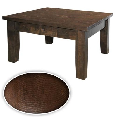 Rough Sawn Style Coffee Tables End Tables And Hall Tables Djs Solid Wood Furniture Made In Canada